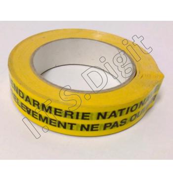"Adhesif rouleau ""ne pas ouvrir"" jaune G (25 mm x 100 m)"