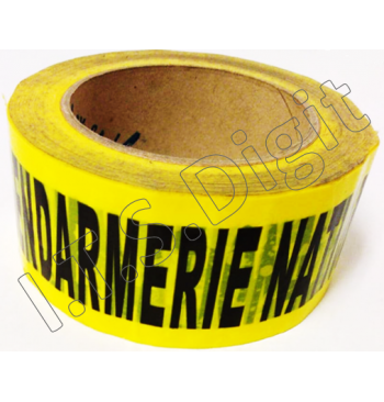 "Adhesif rouleau ""ne pas ouvrir"" jaune G (50 mm x 100 m)"