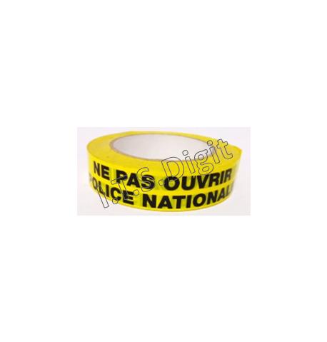 "Adhesif rouleau ""Ne pas ouvrir"" jaune PN (25 mm x 100 m)"