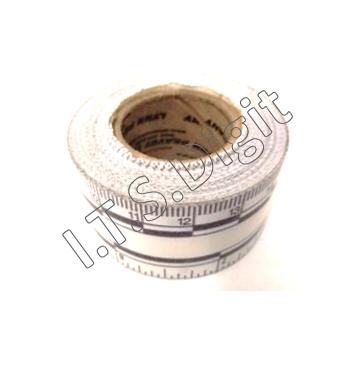 Ruban millimetre adhesif 30 cm (l.2.5 cm L.10 m)