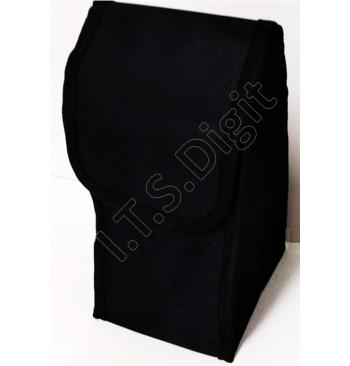 Sacoche de rangement pour 30 plots marquage toile noire