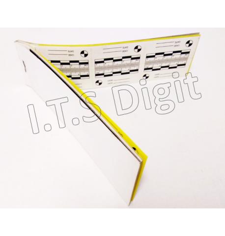 Equerre magnetique millimetree ABFO 105 x 105 mm