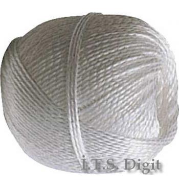 Bobine polypropylene blanche 80 m Diam. 2.5