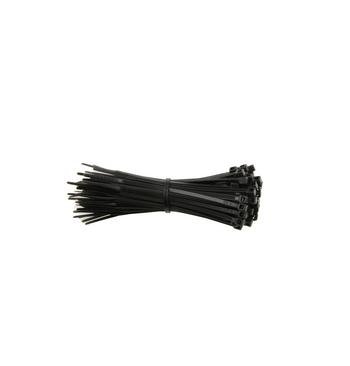 Collier de serrage plastique noir 135 mm x 2.5 mm / 100