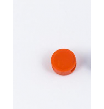Scelle plastique orange Diam.10 mm / 1000 pieces