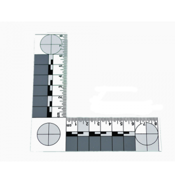 Equerre PVC millimetree ABFO 80 x 80 mm