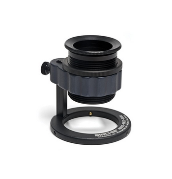 Loupe Reglable Aluminium 2 lentilles X5 DIAM. 35 mm Sirchie