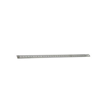 Reglet metallique Inox 30 cm