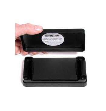Tampon encre noire Ceramique 7.3 x 13.7 cm Sirchie