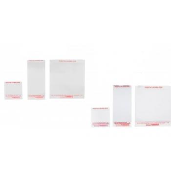 Transferts souples transparents QS (5.08x5.08 cm) /20