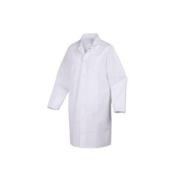 Blouse blanche coton manche longue