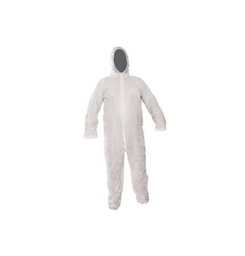 Combinaison capuche polypropylene blanc taille M