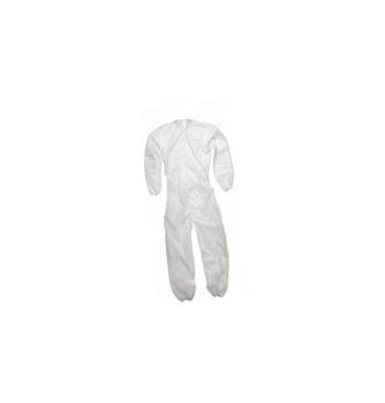 Combinaison blanche polypropylene etanche T5 / XL