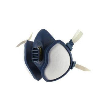 Demi - masque avec filtre integres 3M - 4277 / vapeurs organiques chimiques