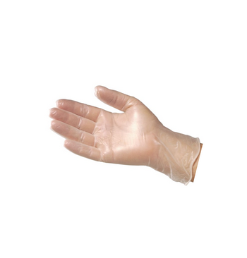 Gants vinyle non poudres courts taille (7/8) M / 100