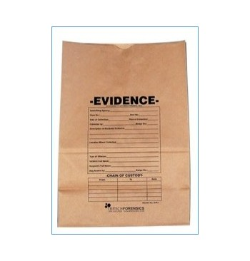 "Enveloppe papier kraft securise ""Evidence"" 160x245 mm + 35 mm / 100"