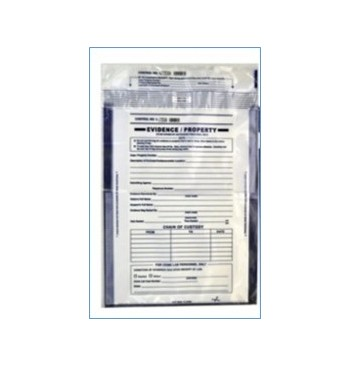 Enveloppe plastique transparente 335x475 mm + 35 mm / 100