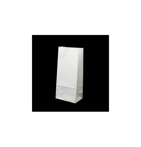 Sac kraft a soufflet blanc (50 grs - l.440 x s.150 x H.620 mm) / 10