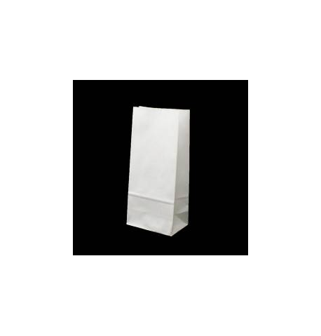 Sac kraft a soufflet blanc 60 x 36 x 12 / 10