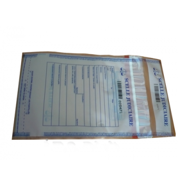 Sac securite polyethylene transparent 170 mm x 235 mm / 50