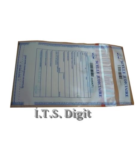 Sac securite polyethylene transparent 335 mm x 445 mm / 50