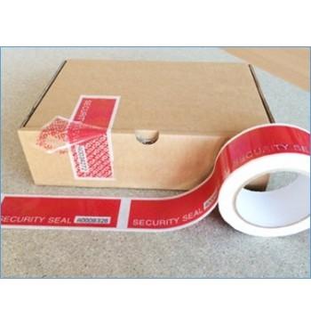 Adhesif rouleau securise 5cm x50 m numerotation+perforation / Unite