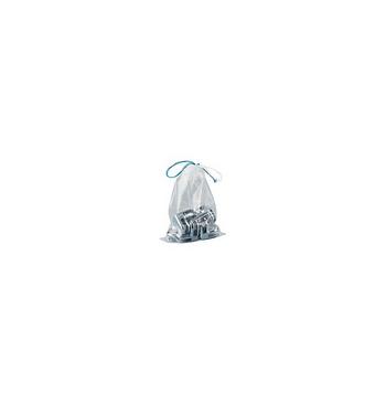 Sachet polyethylene cordonnets (50micron - 250x370 mm) / 50